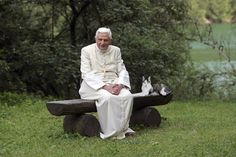 The Pope Who Loved Cats