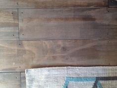 ***Finish Color*** Drip Designs Furniture: DIY milky coffee plywood floors!