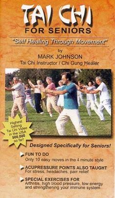Most forms of exercise dissipate your energy and make you tired and hyper at the same time! Our form of Chi Kung/Tai Chi accumulates energy and leaves you refreshed and relaxed when you finish. The graceful, slow speed of our styles, coupled with an empha
