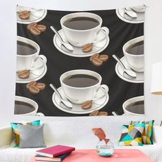I understand your love for coffee, let's blend it into fashion and style at home, click on the link for more colors, styles and designs. Order yours now. ♥