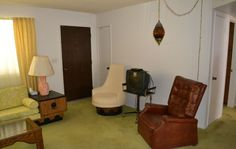 old vintage 1970s retro furniture chairs Apache Junction Arizona home house for sale photo
