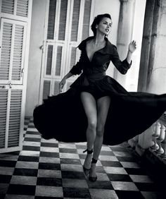 Harper's Bazaar Spain July 2017 Adriana Lima photographed by Vincent Peters | fashion editorial fashion photography