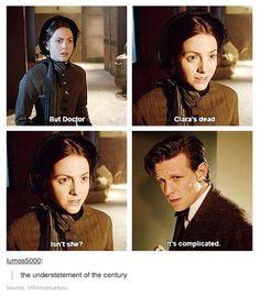 Clara Oswin Oswald. Doctor Who.