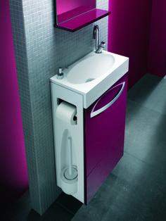 Lave-mains Combo, pour plus d'information rendez-vous page 74 de notre Catalogue Carrelage Salle de bain