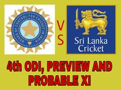 Hello and a warm welcome to our Dream 11 Fantasy Cricket Preview of India vs Sri Lanka the 4th ODI Cover Team News, Probable Playing XI and Dream11team.
