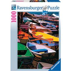 Ravensburger Jigsaw Puzzle Dories Of Maine Boats 1000 Pc 2011 - Complete Ravensburger Puzzle, Puzzle Shop, Ways To Relax, A Whole New World, Shirts For Teens, Dance Moms, Dory, I Love Cats, 1000 Piece Jigsaw Puzzles