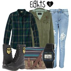 Eights -- The Selection Series (It doesn't say, but they are the homeless, runaways, and those who broke the laws and were punished by being kicked out onto the streets)