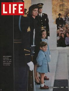 LIFE Magazine December 6, 1963 - Family of President Kennedy at Funeral