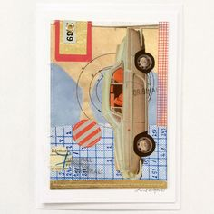 Anne Nørgaard. Mixed collage.
