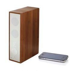 Lautsprecher Bluetooth Holz Weiß jetzt auf Fab.