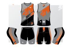 Design a creative racing triathlon kit for Twenty40 Racing. by MAGIKIO