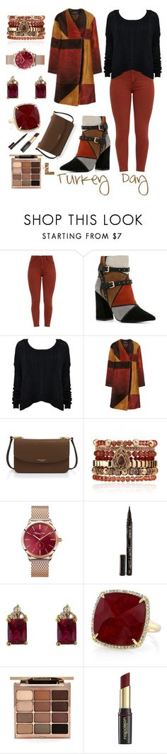 """Turkey Day"" by wedontneednoeducation ❤ liked on Polyvore featuring ALDO, Alice + Olivia, Thakoon, Henri Bendel, Samantha Wills, Thomas Sabo, Smith & Cult, Anne Sisteron, Stila and David Jones"