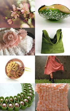 A glimpse of #Spring by #magdamagdaFashion on #etsy -- Pinned with TreasuryPin.com