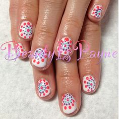 BeautyIsPayne Polka Dot Nails