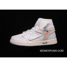 e21c16e763d0 Off-White X Air Jordan 1 White Nike AJ1 OW NRG UNC AQ0818-100 Mens Sports  Shoes New Release