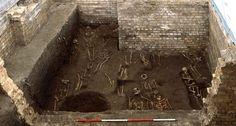 medieval graveyard, archaeology