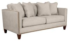 Kinsley sofa: Comfortable has never looked so chic.
