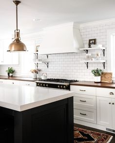 White Kitchen via @parkandoak | Half Baked Harvest