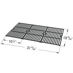 3 PACK REPLACEMENT COOKING GRID COMPATIBLE WITH OUTDOOR GOURMET, BBQTEK, MASTER FORGE AND SAMS GAS GRILL MODELS  Fits Outdoor Gourmet Models:  BQ05037-2 , BQ06042-1 , BQ06W06-A  BUY NOW @ https://www.bbqtek.com/shopexd.asp?id=735&sid=6301