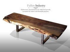 The Root Console Live Edge Custom Furniture, Sculpture And Architectural  Elements Made From Reclaimed Wood And Fallen Trees By Fallen Industry. Conu2026