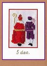 Sint en Piet   8x6  B09043