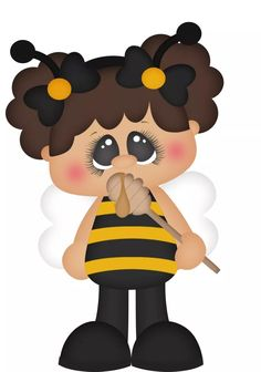 Bee Clipart, Bee Pictures, Cartoon Bee, Dibujos Cute, Baby Drawing, All Kids, Bee Happy, Precious Moments, Kids Cards