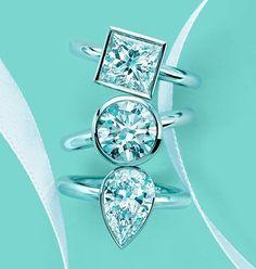 TIFFANY diamond rings #tiffany co #Jewelry