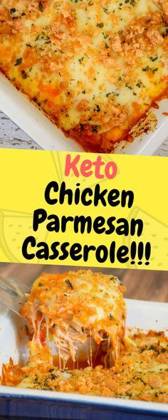 Keto Chicken Parmesan Casserole – One of food