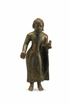 Art Thai, Standing Buddha, Indonesian Art, Buddhist Art, South India, 12th Century, Ancient Art, Buddhism, Bronze