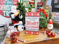 クリスマスのウッドウォールアート販売 アメリカ雑貨のテーマパーク!キャンディタワー