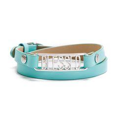 "Aqua Blessed Bracelet Gift Set: 6"" - 7 1/4"""