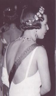 Queen Ingrid wore this tiara for an event, in the 1930s.