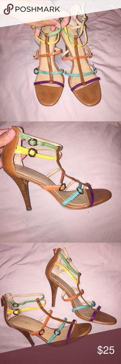 Nine West Heels Really cute heels . Size 7 Nine West Shoes Heels
