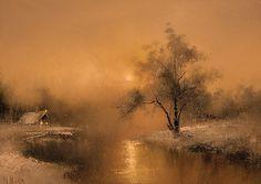 https://flic.kr/p/7xTMR1 | Igor Medvedev Russian Artist. another sunset | www.artistsandart.org
