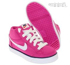 new style 6e935 62d4a Photo Nike Capri 3 Mid - PS children s basket from 28 to 35 - Pink and
