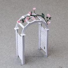 12  Easy to Make Accessories for Fairy Gardens: Make Miniature Garden Arbors