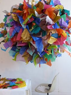 The Fabulous Lustre - huge and colorful! By Sophie Cuvelier