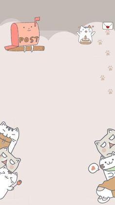 Bear Wallpaper, Kawaii Wallpaper, Cartoon Wallpaper, Wallpaper Quotes, Wallpaper Dekstop, Homescreen Wallpaper, Iphone Wallpaper, Cute Doodle Art, Cute Doodles