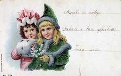 Miss Jane:  Vintage Cards