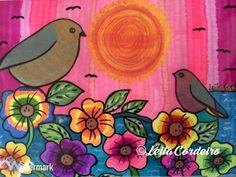 Birds and Flowers   The art of Leila Cordeiro