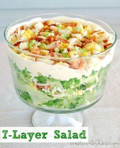 Creations by Kara: 7 Layer Salad