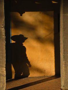 """""""Ghost at Assisi"""" Santa Fe, New Mexico"""