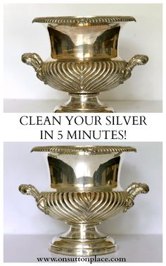 How to Clean Silver Naturally - On Sutton Place