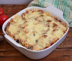 Lusta túrós barackkal Recept képpel - Mindmegette.hu - Receptek Chia Puding, Fusilli, Tortilla Chips, Penne, Mashed Potatoes, Macaroni And Cheese, Food And Drink, Vegetarian, Ethnic Recipes