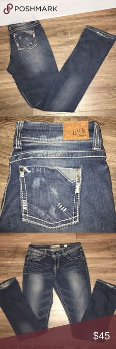 "NWOT BKE Culture Denim NWOT BKE Culture Denim- Size 34 x 37.5: These jeans would be a great addition to anyone's fall or winter wardrobe. They come from a smoke free home. The rise is 9.5"". BKE Jeans Boot Cut"