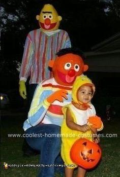 Coolest+Homemade+Bert,+Ernie+and+Rubber+Ducky+Costume