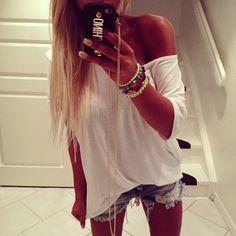 White top #DressingwithBarbie!