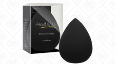 Beauty Blenders have become almost the end-all, be-all of makeup application. But spending $20 on one sponge that you use to put stuff on your face and then wash away is slightly ridiculous. Pick up this highly rated (4.2 stars with almost 2,000 reveiws) beauty sponge from Aesthetica for just $6, an all-time low.