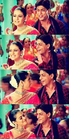 Kajol and Srk in Kal ho naa ho