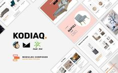 Kodiaq - E-Commerce Responsive Email for Agencies, Startups & Creative Teams Email Templates, Newsletter Templates, Responsive Email, Ecommerce, Site Design, Web Design, Online Email, Campaign Monitor